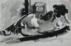 Ink Drawing 1