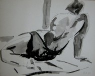 Ink Drawing 9