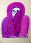 Ink Drawing -Pink
