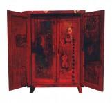 Vatsalya 1..oil on wooden door 1996
